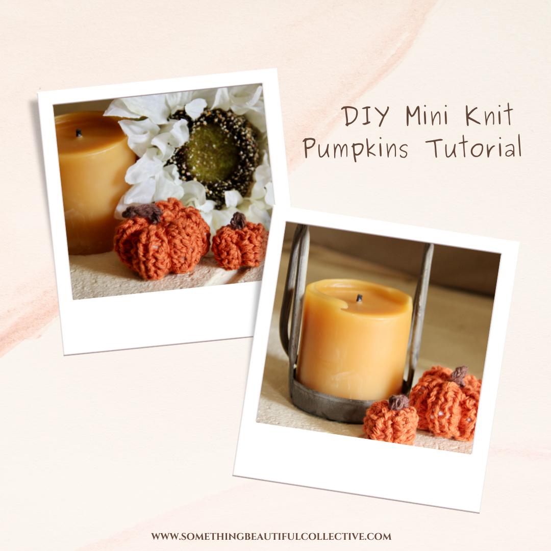 Picture of Mini Knit Pumpkins
